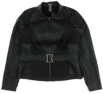 Marvel By Her Universe Black Widow Girls Belted Jacket (X-Small)