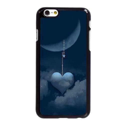 U8L48 Je t'aime à la lune et retour G8B7coque LG coque iPhone 6 Plus de 5,5 pouces de cas de couverture de téléphone portable coque noire KU6FHG3GL