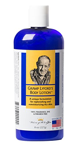 Gramp Lyford's Body Lotion 8 Oz - Made in Vermont made in New England