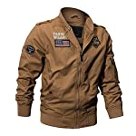 Militaire Tactique Manteau de Veste de l'armée Pilote Jackets Air Force Flight Cargo Coat 8