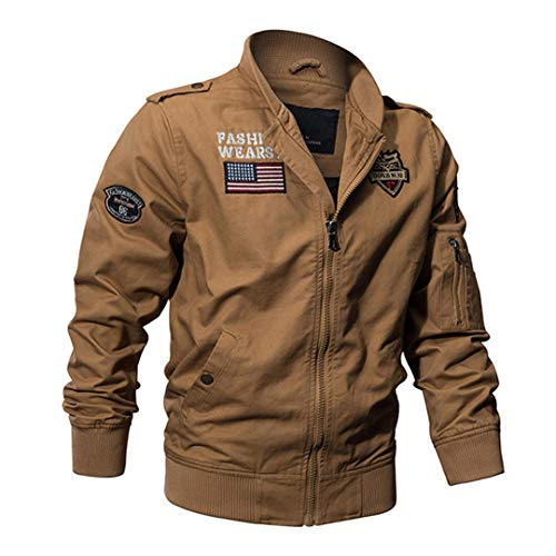 Militaire Tactique Manteau de Veste de l'armée Pilote Jackets Air Force Flight Cargo Coat