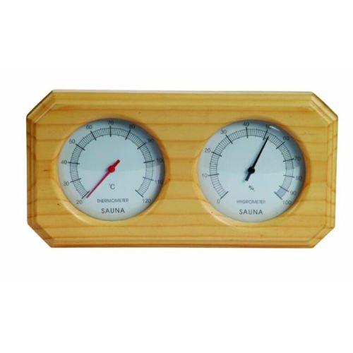 Jian ya na Sauna Attrezzature e Accessori Sauna termometro in Legno