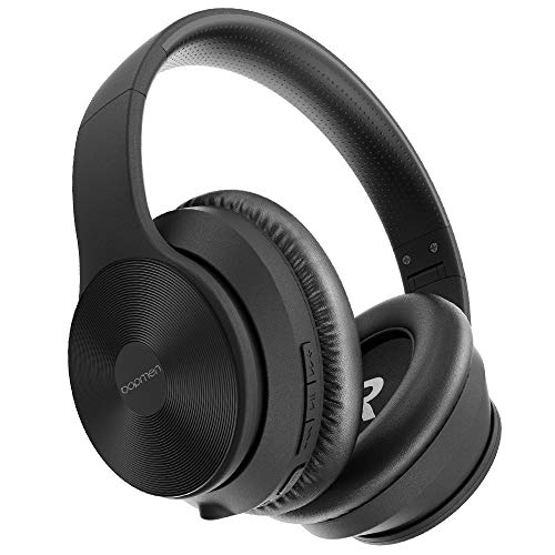 bopmen S40 Active Noise Cancelling Bluetooth Headphones – Wireless ANC Over Ear Headphones, Stereo Sound Headphones with…
