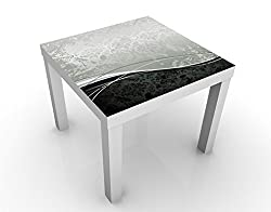 Apalis 47215–278277 Design Table Swinging Baroque, 55 x 55 x 45 cm