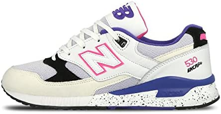 Ernest Shackleton talento Mendigar  New Balance 530 Encap Trainers in White Blue & Pink M530 KIE [UK 7 EU  40.5]: Amazon.co.uk: Sports & Outdoors