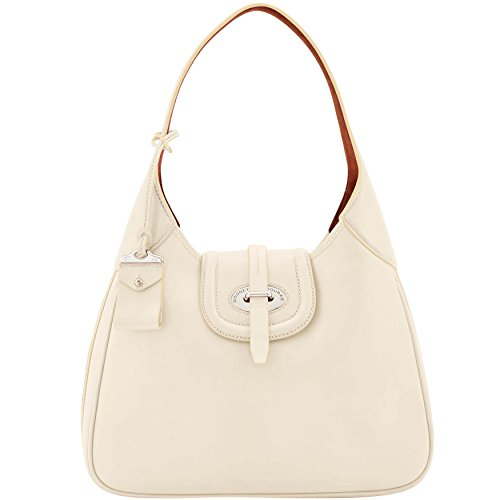 Large Toscana Bourke Bag Dooney amp; Florentine Shoulder Hobo Bone RgItq4vx