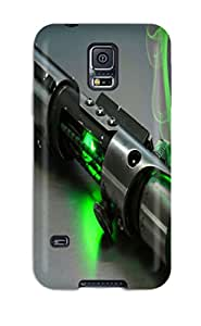 Fashion JvgkGIb2903FbbQC Case Cover For Galaxy S5(star Wars Light Sbaer)