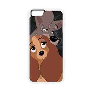 iphone6 4.7 inch Phone Case White Lady and the Tramp II Scamp's Adventure BXF302362