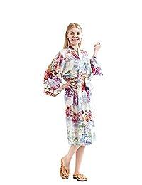 Robe&Wedding long cotton robe sexy robe Women fashion robe