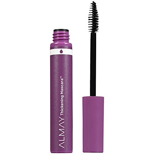Almay Thickening Waterproof Mascara, Black, Ophthalmologist Tested, Fragrance Free, Hypoallergenic, 0.26 oz ()