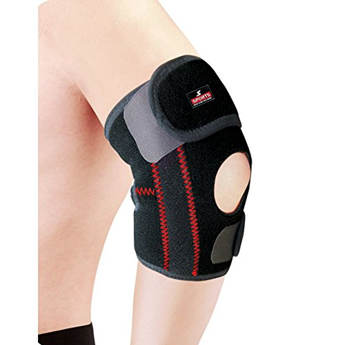 OLESTAR Neoprene Adjustable Magnetic Elbow Support Sleeve Arthritis Brace Sport-Suitable for daily care and various sports such as Golf, tennis, badminton, basketball, rock climbing, cycling. (M)