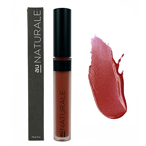 Au Naturale Vegan Organic Lip Gloss in Dusty Crimson | Made in the USA | Organic | Vegan | Cruelty-free