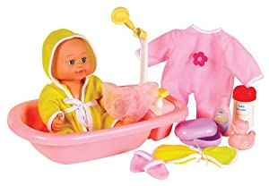 Small World Toys All About Baby Dolls - Baby's Bath Time -Brittany by All About Baby