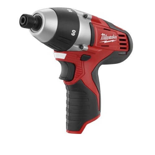 Bare-Tool Milwaukee 2455-20 M12 12-Volt Cordless No-Hub Coupling Driver (Tool Only, No Battery)