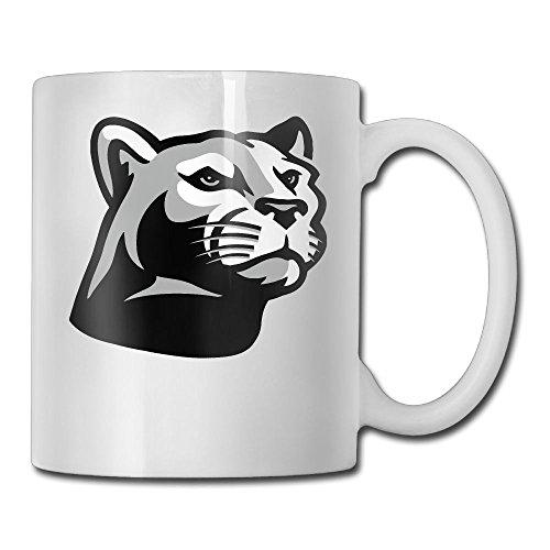 PDCUP Animated Panther Clipart Unisex Custom Mug Quality White Couples Mugs 11oz