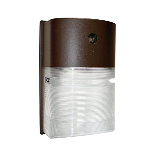 LED Wall Pack Security Light, Dusk to Dawn Sensor, Outdoor Waterproof Fixture, 20W, 1900 Lumens, 5000K Daylight, 120V, RoHS Compliant, ETL Certified