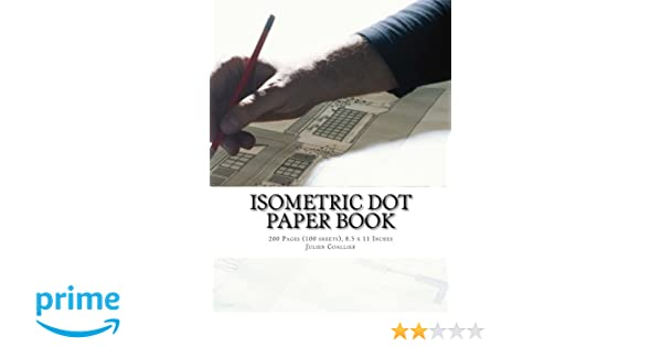 Isometric Dot Paper Book  Pages  Sheets  X  Inches