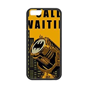 iPhone 6 4.7 Inch Cell Phone Case Black Batman Call Waiting Uuetd