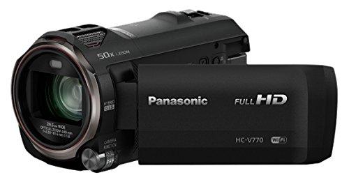 Panasonic HC-V770EP-K soporte de - Videocámara (12,76 MP, MOS BSI, 25,4/2,3 mm (1/2.3
