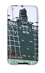 Sherry Green Russell's Shop New Style chicago cubs MLB Sports & Colleges best Samsung Galaxy S5 cases 8615287K136109537