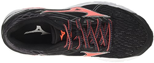 Mizuno Multicolore 55 Pinkglo White Shoes Black WOS Fierycoral Wave Multicolor Women's Peacoat Running Prodigy Magnet YxqarYW6w
