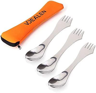 3 Pack New Mess Kit Fork