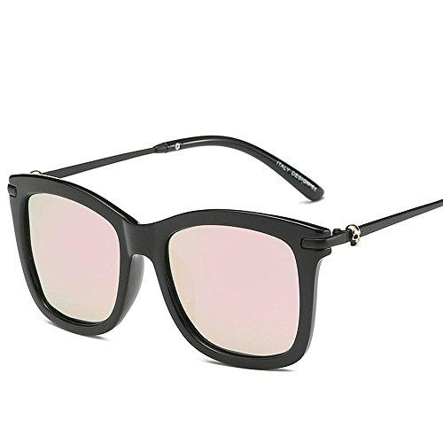 Aoligei Hommes femmes lunettes de soleil rétro couleur lumineuse grande couleurs Polarized lunettes de soleil tendance d0V7tsiff