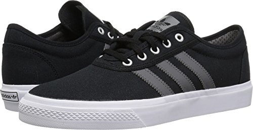 adidas Originals adi-Ease Skate Shoe, Black/Grey/White, 9.5 M US