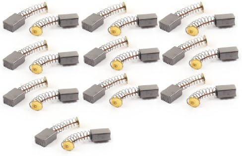 Herramientas de alimentaci/ón Motor el/éctrico escobillas de carb/ón 11 x 7 x 4 mm 20 piezas