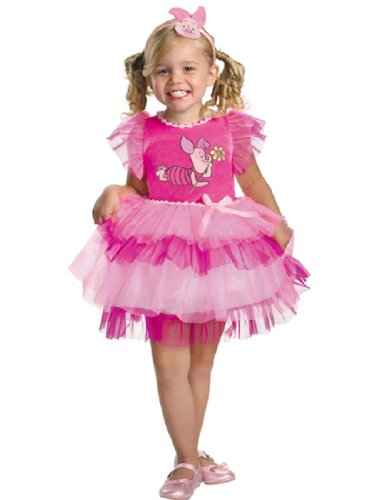 [Frilly Piglet Costume - Small (2T)] (Winnie The Pooh Costume Ideas)