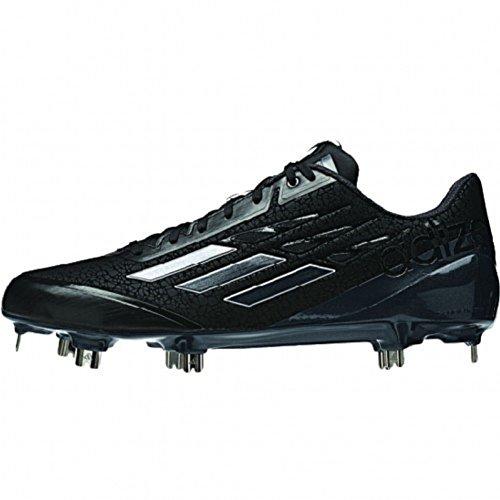 adidas New Adizero Afterburner Baseball Metal Cleats Black/Carbon Size 12 M