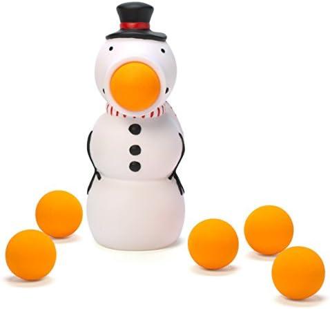 Hog Wild Holiday Snowman Popper