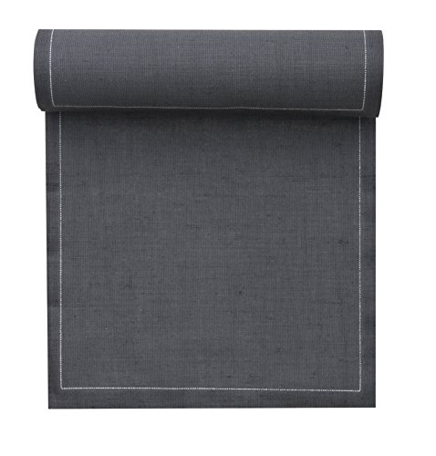Linen Cocktail Napkin - 4.3 x 4.3 in - 50 units per roll - Intense Grey ()