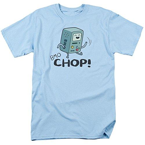 Time chiaro Shirt BMO T Adventure uomo per Chop blu SFTq4WU4