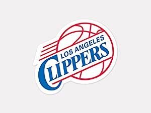 Los Angeles Clippers 4x4 Die Cut Decal