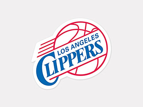 Los Angeles Clippers Merchandise (Los Angeles Clippers 4x4 Die Cut Decal)