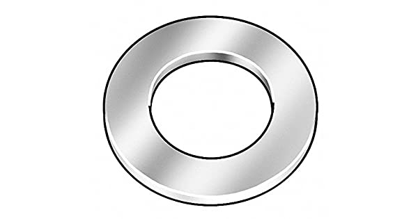 Amazon.com: M6x18.00mm O.D., Extra Thick Flat Washer, Steel ...