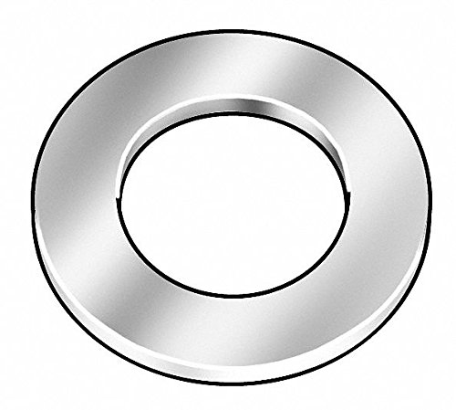 """Stainless Steel Arbor Shim, 18-8 Grade, 0.0050"""" Thickness, ±0.0005"""" Thickness Tolerance - 1 Each"""
