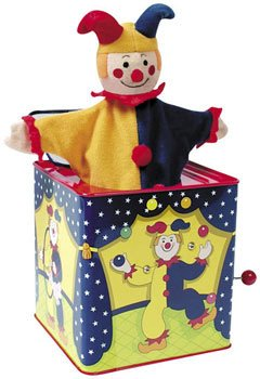 (Schylling Jester Jack In The Box by)