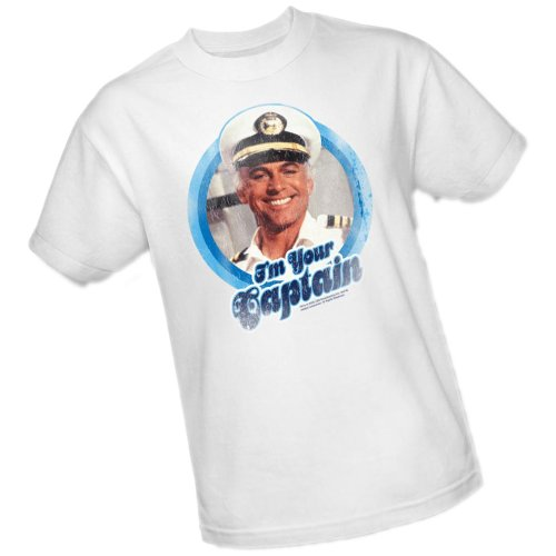 I'm Your Captain -- The Love Boat Adult T-Shirt, X-Large by ABC