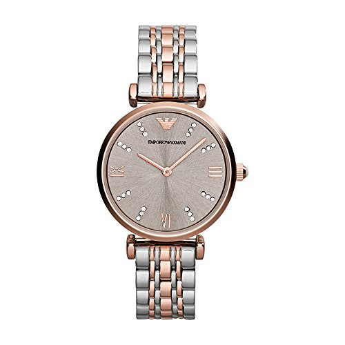 Emporio Armani Women's AR1840 Retro Two Tone Watch