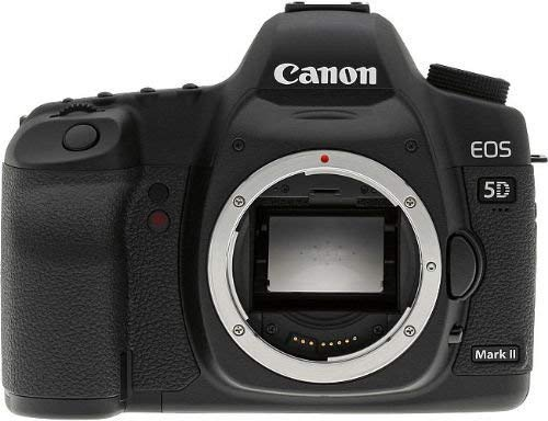 Canon EOS 5D Mark II Full Frame DSLR Camera (Body Only) (OLD MODEL) (Renewed)