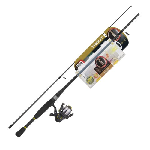 2 Ready Trout Fish - Ready 2 Fish Trout Spin Combo with Kit, Ultra Light