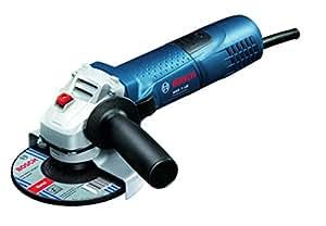 Bosch GWS 7-125 Professional - Amoladora angular, disco 125 mm, 1100 rpm, 720 W, color negro y azul