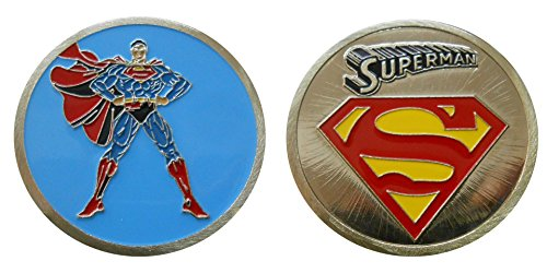 Logo Challenge Coin - Superman - Character Collectible Challenge Coin / Logo Poker / Lucky Chip