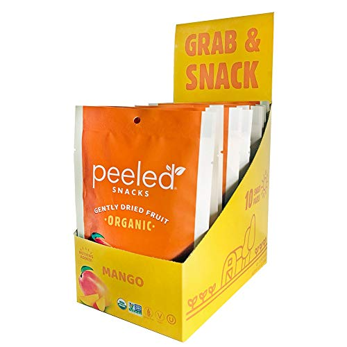 Peeled Snacks much-ado-about-Mango, 1.4 Ounce (Pack of 10)