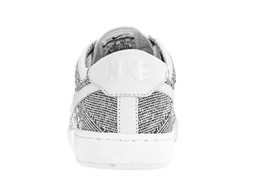 Nike Heren Tennis Classic Ultra Flyknit Tennisschoen Wit / Wit-zwart