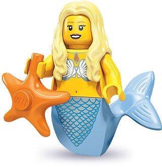 LEGO 71000 Minifigures Series 9 - Mermaid x1 Loose