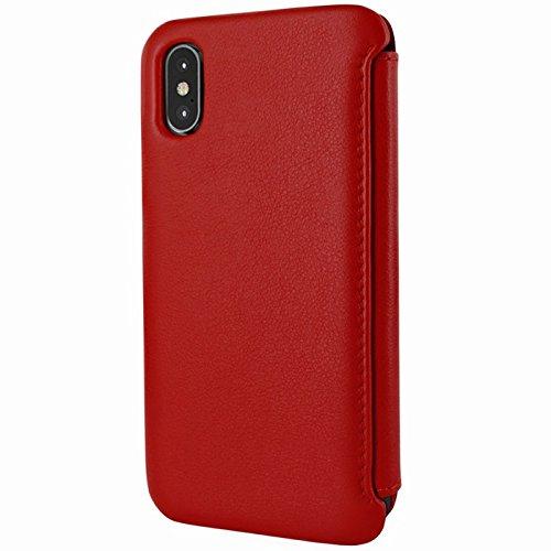 Piel Frama U794R Case ''Emporium'' for iPhone X - Red by Piel Frama (Image #2)