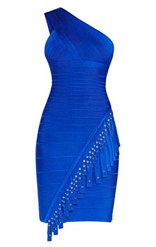 Blau Damen HLBCBG Kleid HLBCBG Damen Blau qW0qHOXw